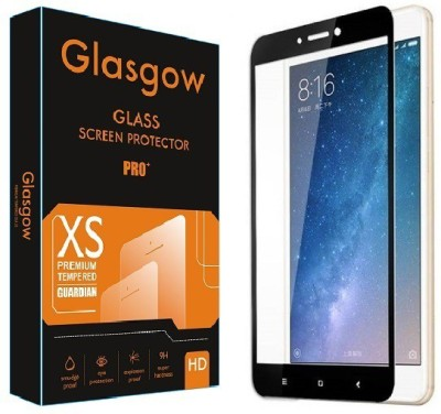 Glasgow Edge To Edge Tempered Glass for Mi Max 2(Pack of 1)