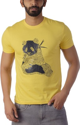 Lyrical Life Printed Men Round Neck Yellow T-Shirt Flipkart