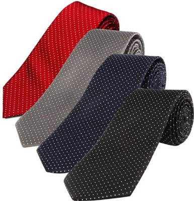 StyleRide Polka Print Tie(Pack of 4)