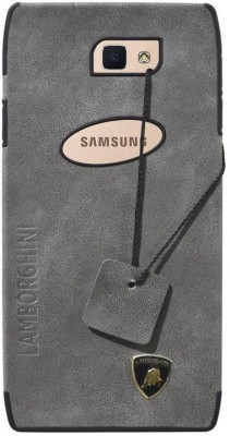 COVERNEW Back Cover for Samsung Galaxy On Nxt   SM G610FZDHINS Grey, Dual Protection COVERNEW Plain Cases   Covers