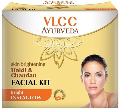 VLCC Haldi & Chandan Facial Kit (Bright Instaglow)