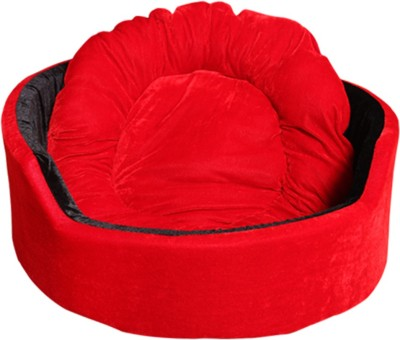 CreBril CDB563 L Pet Bed(Red, Black)
