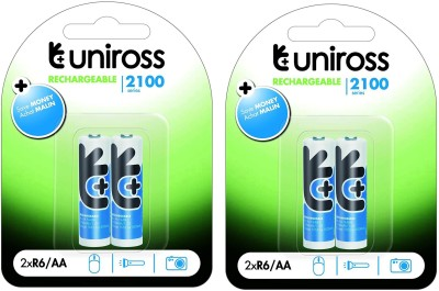uniross 2100MAH 4PL Rechargeable Ni-MH Battery