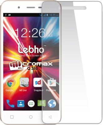 Novo Style Tempered Glass Guard for MicromaxCanvas SparkQ380(Pack of 1)