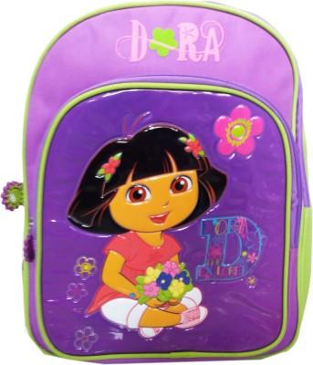 kidoz kingdom DORA FLOWER BOQUET SCHOOL BACKPACK 14 INCH 2.5 L Backpack(Multicolor)