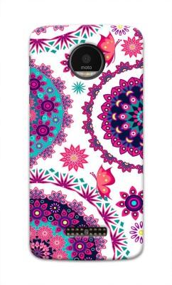 Tecozo Back Cover for Motorola Moto Z Play Multicolor, Waterproof