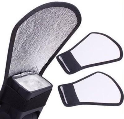 Ginni Silver White Flash Diffuser Reflector for Canon Nikon Pentax Yongnuo Sony Nikon , Canon Diffuser(Multicolor)