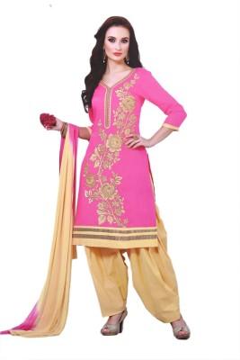 JBS SUCHI FASHION Cotton Embroidered Salwar Suit Dupatta Material(Unstitched)