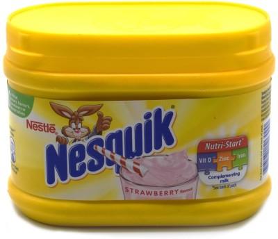 Nestle Nesquik Complementing Milk, Strawberry Flavour - 300g(300 g)