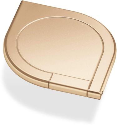 Baskety Mobile 360` Degree Rotation iRing Universal Ring Grip / Stand Holder for Any Smart Device (Oval Gold) Mobile Holder Flipkart