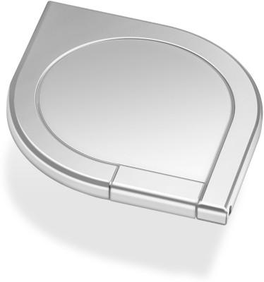 Baskety Mobile 360` Degree Rotation iRing Universal Ring Grip / Stand Holder for Any Smart Device (Oval Silver) Mobile Holder Flipkart