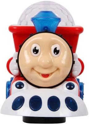 Amazia Thomas Cartoon Musical Light Engine Train for kids(Multicolor)