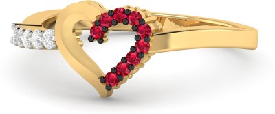 PC Jeweller The Jadon 22kt Ruby Yellow Gold ring