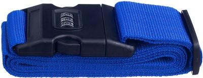 EZ Life Travel Safety - Nylon Strength Travel Belt Luggage Strap with Combination Lock - Royal Blue Luggage Strap(Blue)