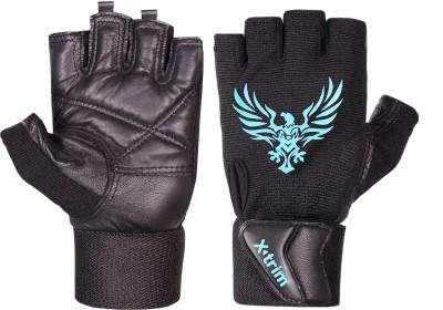 Xtrim X MACHO Gym & Fitness Gloves(Black)