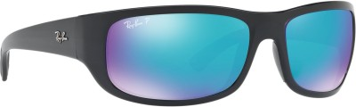 Ray-Ban Rectangular Sunglasses(Green)