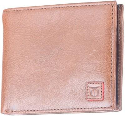 Titan Men Tan Genuine Leather Wallet 4 Card Slots Titan Wallets