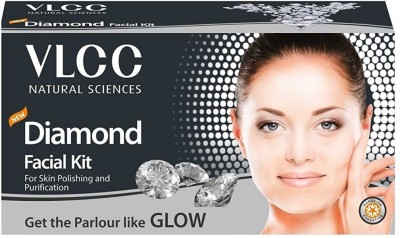 VLCC Diamond Facial Kit (For Skin Polishing and Purification)