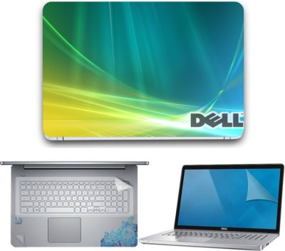 Gallery 83 ? dell wallpaper wallpaper laptop decal 3 in 1 combo set 15.6 inch 4205 Combo Set(Multicolor)