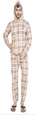 AD & AV Checkered Men Raincoat