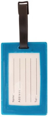 Tootpado Luggage Tag Keep Calm And Run - (1i486) Luggage Tag(Blue)