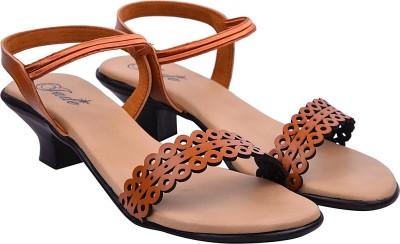 Jade Women Tan Heels