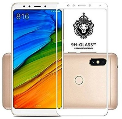 nzon Edge To Edge Tempered Glass for Redmi Note 6 Pro Original Full Coverage Curved Scratch Proof Bubble Free 0.3mm Full Glue Tempered Glass For Redmi Note 6 Pro Screen Protectors - White(Pack of 1)