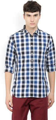 French Connection Men Checkered Casual Multicolor Shirt at flipkart