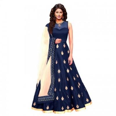 Julee Anarkali Gown(Dark Blue)