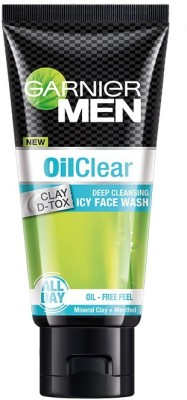 Garnier Men Oil Clear Deep Cleansing Face Wash 50gm