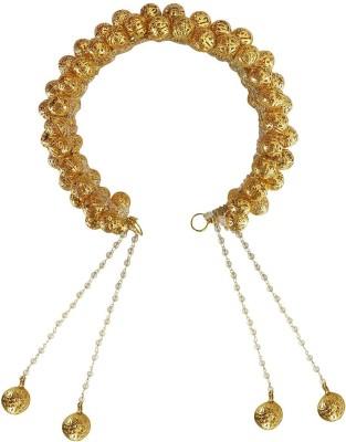 raaya Hair Decorations Metal Veni (Gajra) Hair Accessory Set(Gold) Flipkart
