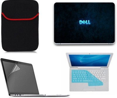 Gallery 83 dell wallpaper wallpaper laptop decal 4 in 1 combo set 15.6 inch 4117 Combo Set(Multicolor)