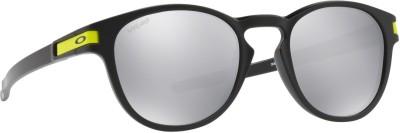 Oakley LATCH Round Sunglass(Silver)