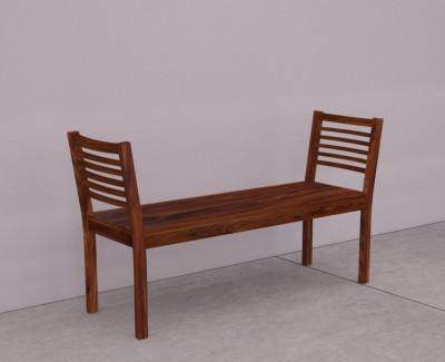 Wood Mania Solid Wood 2 Seater(Finish Color - Teak)