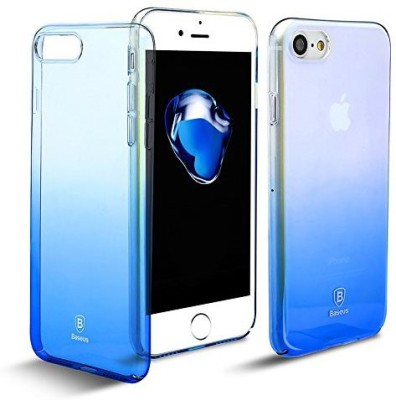 Micomy Back Cover for Apple iPhone 7 Plus Blue, Transparent
