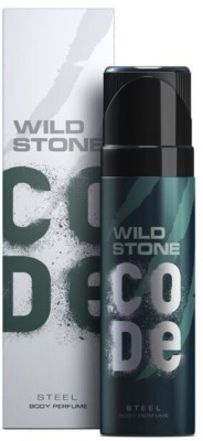 Wild Stone Code Steel Perfume Body Spray  -  For Men(120 ml)