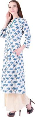 Yukta lifestyle Women Floral Print A-line Kurta(Multicolor)