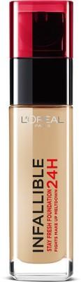 L'Oreal Paris Infallible 24H Liquid Foundation(Sable Sand 220)