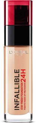 Loreal Paris Infallible 24Hr Liquid Foundation, Golden Beige 140, 30Ml