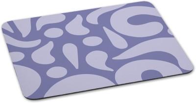 100yellow Mouse pads printed designer waterproof coating mousepadfor Laptop- Blue Mousepad(Multicolor)