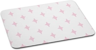 100yellow Mouse pad Star Theme printed Designer Waterproof Coating mousepadfor Gaming Mousepad(Multicolor)