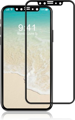 Aone Quality Tempered Glass Guard for Apple iPhone X(Pack of 1)