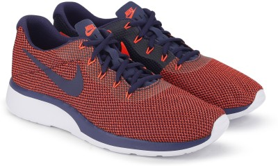Nike NIKE TANJUN RACER Running Shoes For Men(Red, Blue) 1
