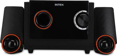 Intex IT- 212 SUFB 40 W Bluetooth Home Audio Speaker(Black, 2.1 Channel)