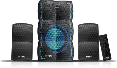 Intex IT - 3510 FMUB 2.1 Home Speaker 86 W Bluetooth Home Theatre(Black, 2.1 Channel)