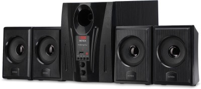 Intex IT 2655 60 W Laptop/Desktop Speaker(Black, 4.1 Channel)