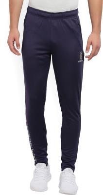 FIFA Solid Men Dark Blue Track Pants