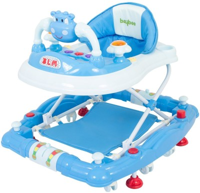 Baybee Musical Walker & Rocker(Blue)