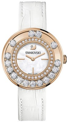 Swarovski 1187023 Lovely Crystals Rose Gold Tone Watch  - For Women