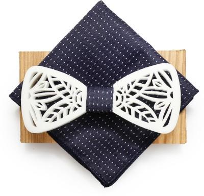 COCO CHANEL Silk Cufflink(White)